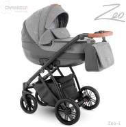 Camarelo Zeo - 3in1 Kombikinderwagen - Zeo-1 grau