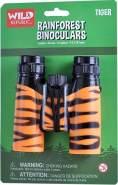 Regenwald-Fernglas für Jugendliche 12 cm orange/schwarz
