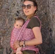 Didymos Babytragetuch Ada Karmin Gr. 8
