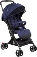 BabyGO 'Micro' Buggy darkblue inkl. Sicherheitsbügel, Gepäcknetz und Sonnenverdeck