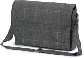Hartan 'City Bag' Wickeltasche selita check