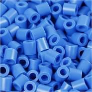 Fotoperlen, 5x5 mm, 2,5 mm, Blau