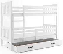 Interbeds 'CARINO' Etagenbett weiß 80x190cm