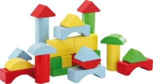 SpielMaus Steckboxtrommel mit 30 Bausteinen 41307684 Steckbox