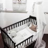 Belily 'Teddy Teds' World 4-tlg. Baby-Bettset 100 x 135 cm weiß/beige