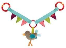 sigikid, Mädchen und Jungen, Wagenkette Vogel, Mehrfarbig, 41439