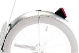 Croozer Unisex– Erwachsene Schutzblech-3092049060 Schutzblech, Silber, One Size