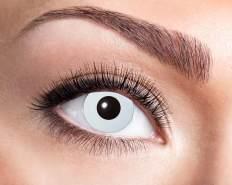 Kontaktlinsen UV Flash White