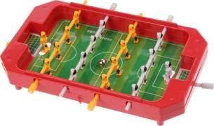 Toi-Toys Mini Tischfußball Spiel rot 17 x 12,5 x 3 cm