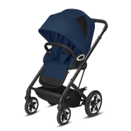 CYBEX Gold 'TALOS S LUX' Buggy 2021 Black/Navy Blue