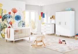 Pinolino 'Lumi' 3-tlg. Babyzimmer-Set, breit, groß