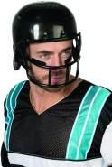 Erwachsenen Helm American Football in schwarz
