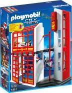 PLAYMOBIL - Feuerwehrstation mit Alarm 5361