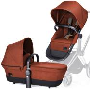 Cybex 'PRIAM' Kinderwagenaufsatz & 2in1-Sitz Autumn burnt red