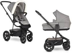 Easywalker Harvey 2 All-Terrain Peak Kombikinderwagen Peak Arctic Grey