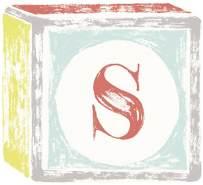 Lilipinso Sticker Buchstabe auf Spielwürfel S