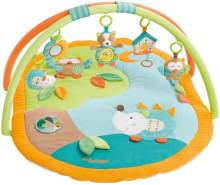fehn 'Sleeping Forest' 3-D-Activity-Decke inkl. Spielbogen 80x105cm