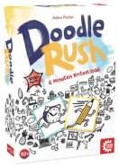 GAMEFACTORY 646225 Doodle Rush, Zeichenspiel, kreatives Partyspiel, Kritzelspaß für 3 bis 6 Spieler, ab 10 Jahren, Mehrfarbig