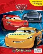 Phidal 'Cars 3' Spielbuch + 12 Spielfiguren + Spielmatte