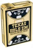 spielkarten Poker Texas schwarz