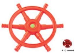 Steuerrad Schiff Star Orange