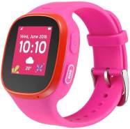 TCL Movetime Kinder-Smartwatch GPS + SIM-Slot Pink/Rot Kinder-Smartwatch