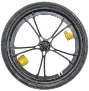 """Burley Laufrad 20"""" Plastik Push Button inkl Achse, Reifen und Reflektoren Bee, schwarz"""
