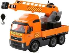 Volvo Truck mit Kran auf Wendeplattform