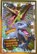 Lego Jurassic World Karten - Jurassic World Trading Cards (2021) - LE14 Gold Karte