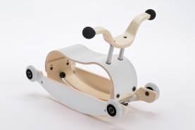 Wishbone Mini-Flip 3in1 Rutschfahrzeug White