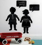 Wallies Kreidetafel Vintage Kids