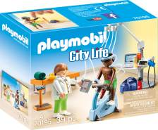 PLAYMOBIL - Beim Facharzt: Physiotherapeut 70195
