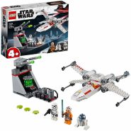 LEGO Star Wars - X-Wing Starfighter Trench Run weiß/grau 75235