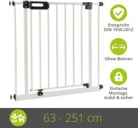 Türschutzgitter Merle 243 - 251 cm Weiß
