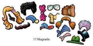 Magnetspiel Verkleiden & Schütteln Die Lieben Sieben