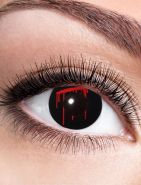 Kontaktlinsen Black Slash