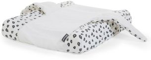 CHILDHOME Bezug für Wickelauflage Engel Jersey Leopard CCCOAJLEO