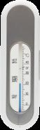 bebe-jou Badethermometer Silber