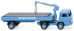 Wiking - Baustoffwagen Magirus 135 D 11 FS Klöckner