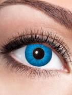 Zoelibat Kontaktlinse Electro Blue dpt. -1,0 bis -4,0, Größe: -1,5 Dioptrien