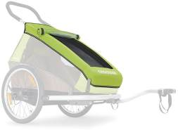 Croozer - Verdeck 2in1 für Kinderanhänger Meadow Green