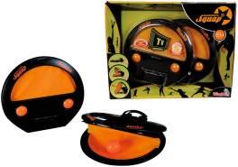 Simba  107202420 - Squap Fangball/ Geschicklichkeits/ Gartenspiel, Sommer, Outdoor, Strandspielzeug, Ab 6 Jahren, 2erSet
