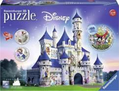 Ravensburger - 3D Puzzle - Disney Schloss, 216 Teile