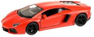 Lamborghini Aventador Sportwagen orange 10,5 cm