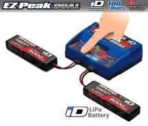 DUAL EZ Peak Plus Lader mit zwei 5000 11. 1V Lipo Akkus Traxxas TRX2990GX