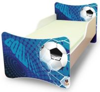 Best for Kids 'Goal' Kinderbett 90x200 ohne Matratze blau