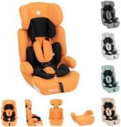 Kikkaboo Kindersitz Zimpla Gruppe 1/2/3 (9-36 kg) 1-12 Jahre verstellbar Armlehne orange