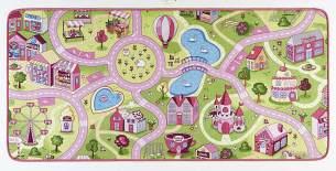 Hanse Home Spielteppich Kinderteppich Sweettown rosa 200x300 cm