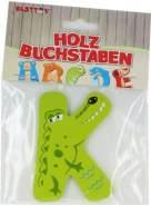 Besttoy Holzbuchstabe 'K' grün