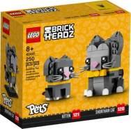Lego BrickHeadz 40441 'Kurzhaarkatzen', 250 Teile, ab 8 Jahren